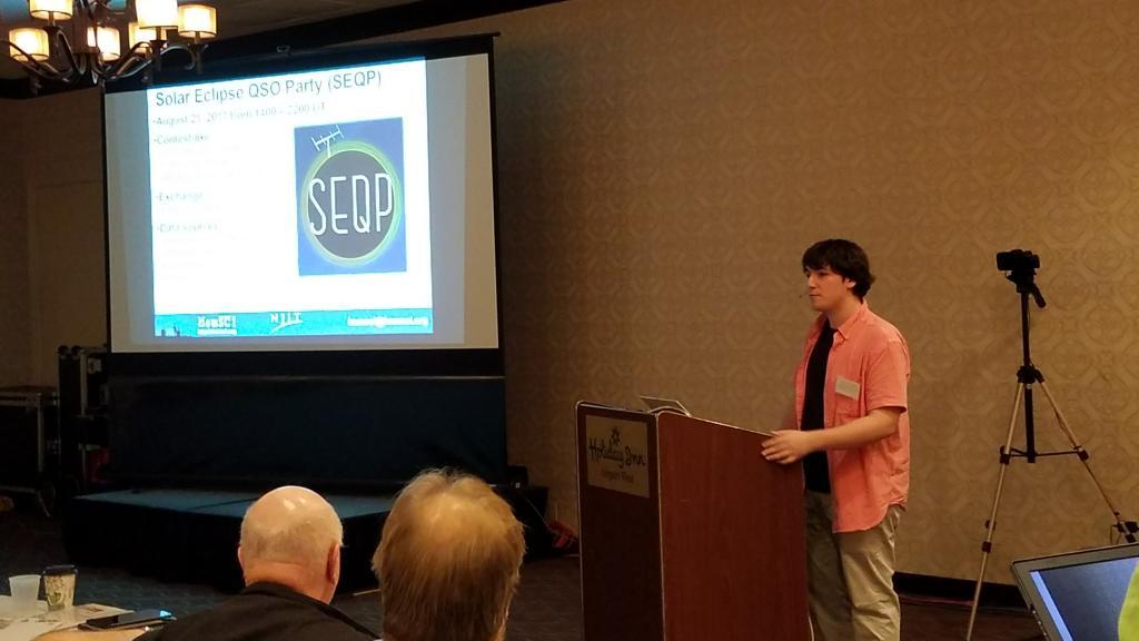 Spencer Gunnning K2AEM Presents at the TAPR ARRL DCC